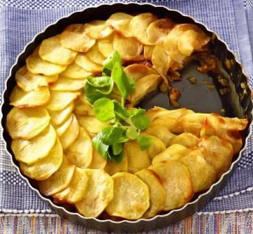 ,картофельный пирог,