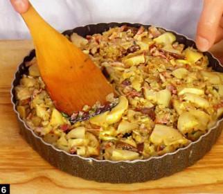 картофельный пирог +в духовке