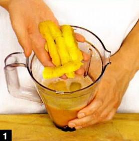 коктейль из дыни ,как приготовить котель