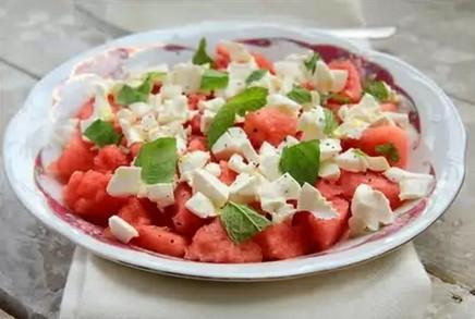 арбуз салат рецепт